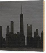 Chicago Impressions 6 Wood Print