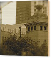Chicago Impressions 7 Wood Print