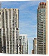 Chicago Panorama 1 Wood Print