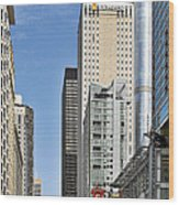 Chicago State Street - That Great Street Wood Print by Christine Till