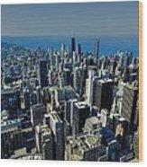 Chicago Tm 022 Wood Print