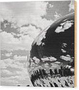 Chicago's Cloud Gate Wood Print