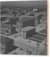 Chicagos Ida B. Wells Housing Project Wood Print by Everett