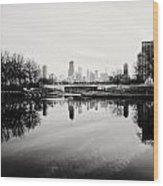 Chicago's North Pond Wood Print