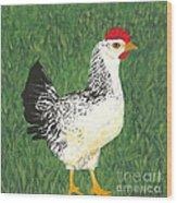 Chicken Wood Print