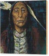 Chief Niwot Wood Print