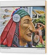 Chief Running Nose Wood Print