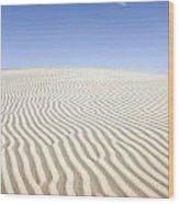 Chihuahuan Desert Dunes Wood Print