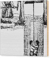 Child Labor, 1842 Wood Print