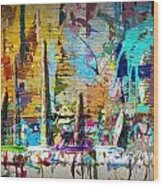 Child's Painting Easel Wood Print