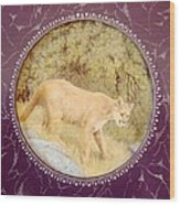 Chilean Puma Wood Print
