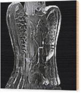 Chillin Angel Wood Print