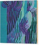 Chillin Wood Print
