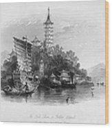 China: Golden Island, 1843 Wood Print