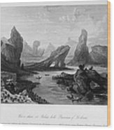 China: Wuyi Shan, 1843 Wood Print