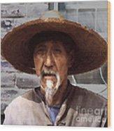 Chinaman Wood Print