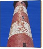 Chincoteague Lighthouse Wood Print