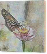 Chinese Butterfly Wood Print