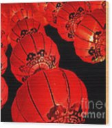 Chinese Lanterns 3 Wood Print