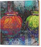 Chinese Lanterns Wood Print