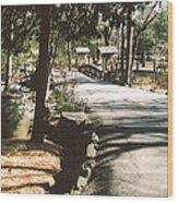 Chinqua-penn Road Wood Print