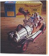 Chitty Chitty Bang Bang Corgi Toy Wood Print
