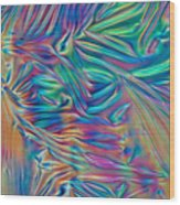 Cholesteric Liquid Crystals Wood Print