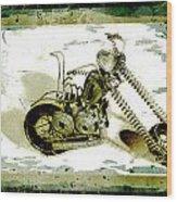 Chopper 1 Wood Print