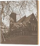 Christ Church Leeds Wood Print