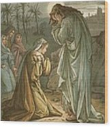Christ In The Garden Of Gethsemane Wood Print