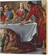 Christ In The House Of Simon The Pharisee Wood Print