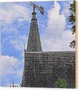 Christian Church Wood Print