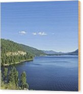 Christina Lake Wood Print