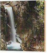 Christine Falls Canyon Wood Print