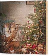 Christmas - My First Christmas  Wood Print