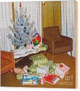 Christmas 1969 Wood Print