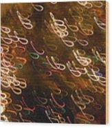 Christmas Card - The Manger Wood Print