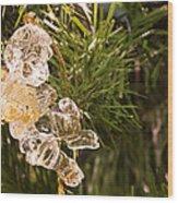 Christmas Crystal Angel 1 B Wood Print