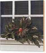 Christmas Decoration Wood Print