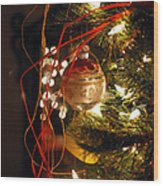 Christmas Ornament Wood Print