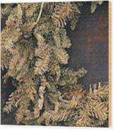 Christmas Past Wood Print by Joe Jake Pratt