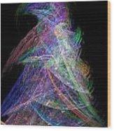 Christmas Tree 49b 29e Wood Print