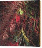 Christmas Tree 72 Wood Print