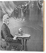 Christopher Sholes, American Inventor Wood Print