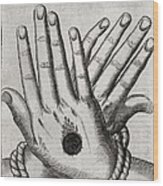 Christ's Stigmata, 17th Century Wood Print