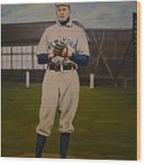 Christy Mathewson Wood Print by Mark Haley