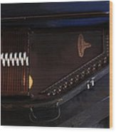 Chroma Harp Wood Print
