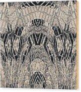 Chrome Wood Print
