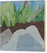 Chromitic Iris Wood Print