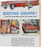 Chrysler Ad, 1959 Wood Print